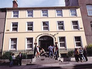 The entrance to Cork Language Centre
