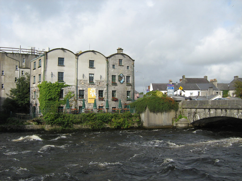 Galway Language Centre from across the river