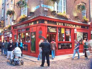 The Temple Bar pub in Dublin